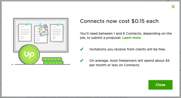 upwork-connects